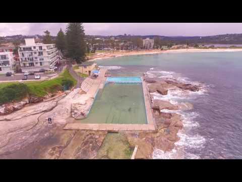 Phantom Drone on Dee Why Beach, Northern Beaches, Sydney Australia
