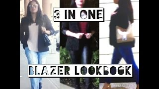 What I Wore This Weekend | How To Style a Blazer 3 Ways