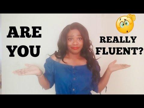 WHAT IS FLUENT? | Ambie Gonzalez