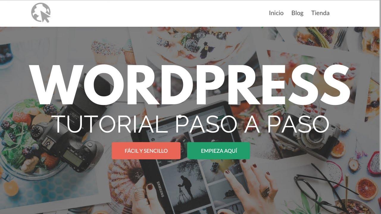 Cómo Hacer una Pagina Web con WordPress Tutorial 2018 - Actualizado - Paso a Paso