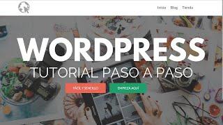 Cómo Crear una Página Web con WordPress 2018 - Actualizado - Paso a Paso(, 2018-05-16T12:29:26.000Z)