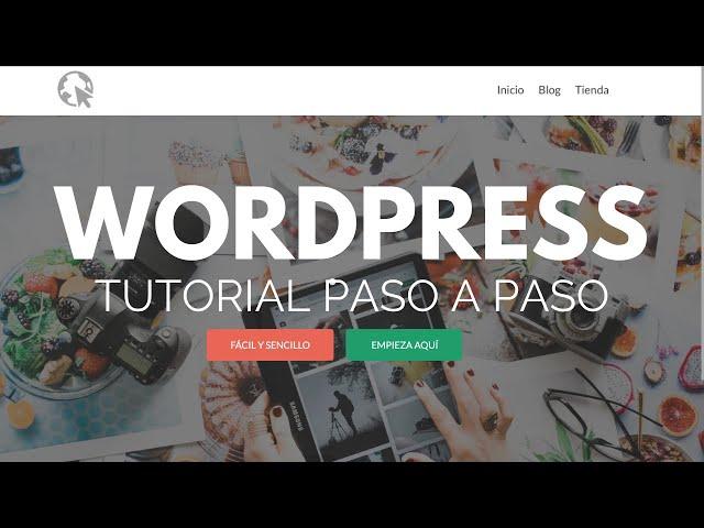 Como Crear una Pagina de WordPress- 2019 - Para Principiantes