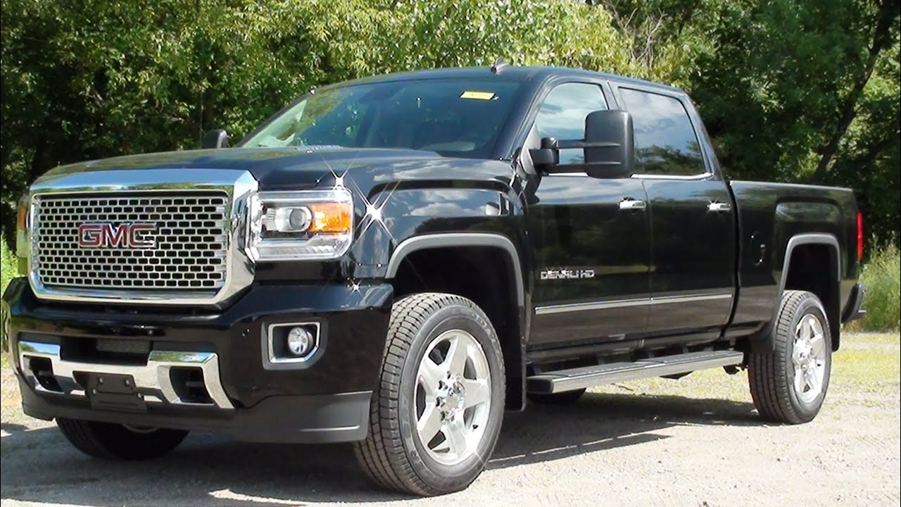 MVS  2015 GMC Sierra 2500HD Denali  YouTube