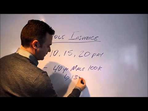 Whole Life Insurance in 4 Minutes
