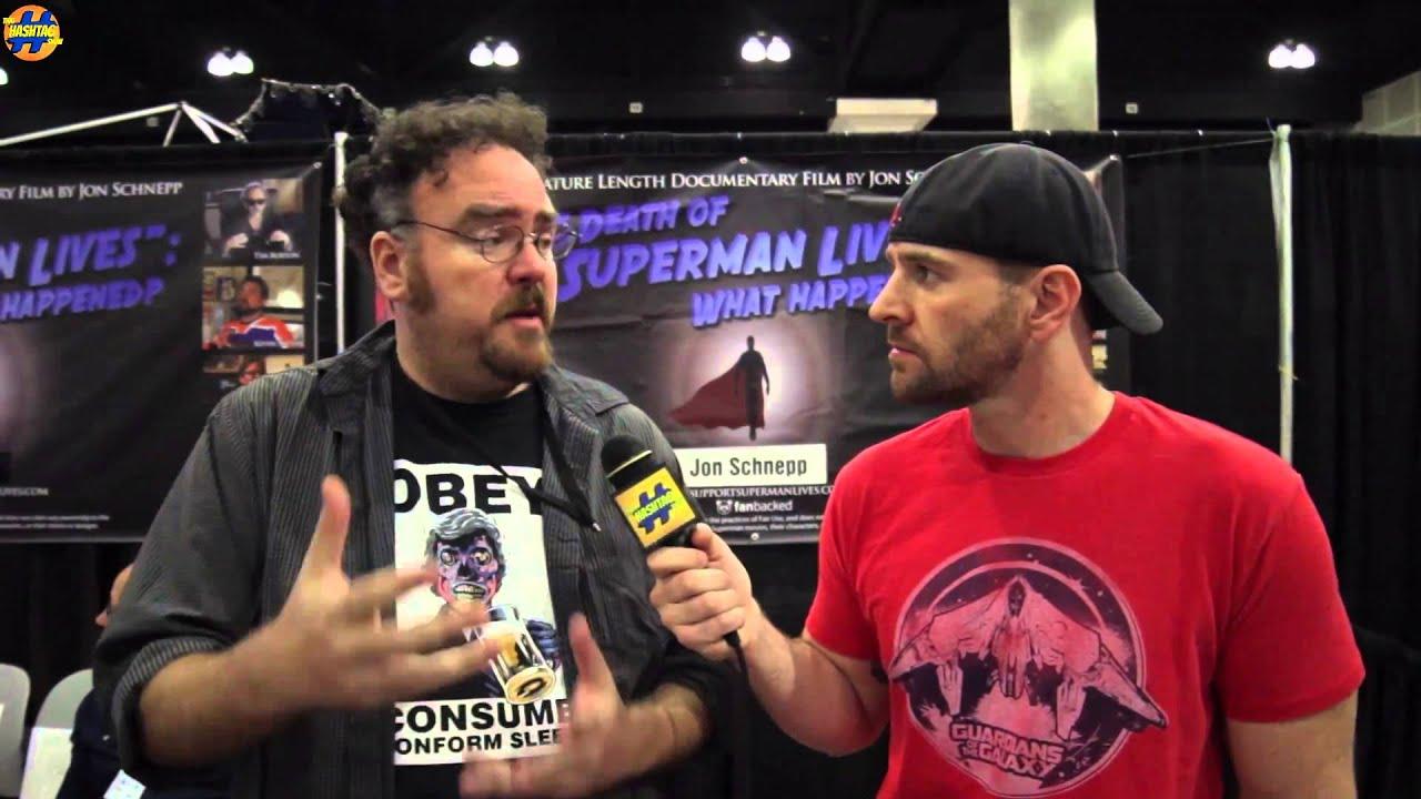 Jon Schnepp Talks About His Film The Death Of Superman Lives