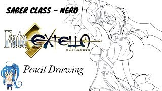 Fate Series - Nero Claudius (Pencil Drawing)