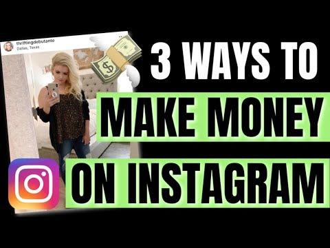 TOP 3 WAYS TO MAKE MONEY ON INSTAGRAM | SOCIAL MEDIA 2019