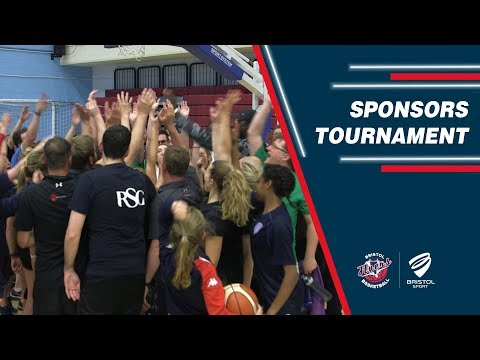 Bristol Flyers Sponsors Tournament 2018