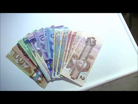 Canadian Money! Dollar Bills $5 -  $100 What Is Canadian Currency Money