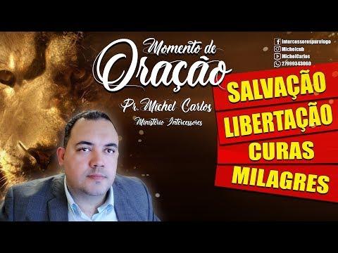 🔴 ORAÇÃO DA FÉ  AO VIVO - Pr. Michel Carlos - Salvação / Libertação / Curas / Milagres
