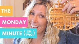 The Monday Minute | National Waffle Day | Jenny On The Spot