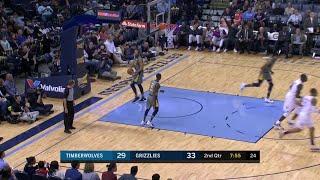 2nd Quarter, One Box Video: Memphis Grizzlies vs. Minnesota Timberwolves