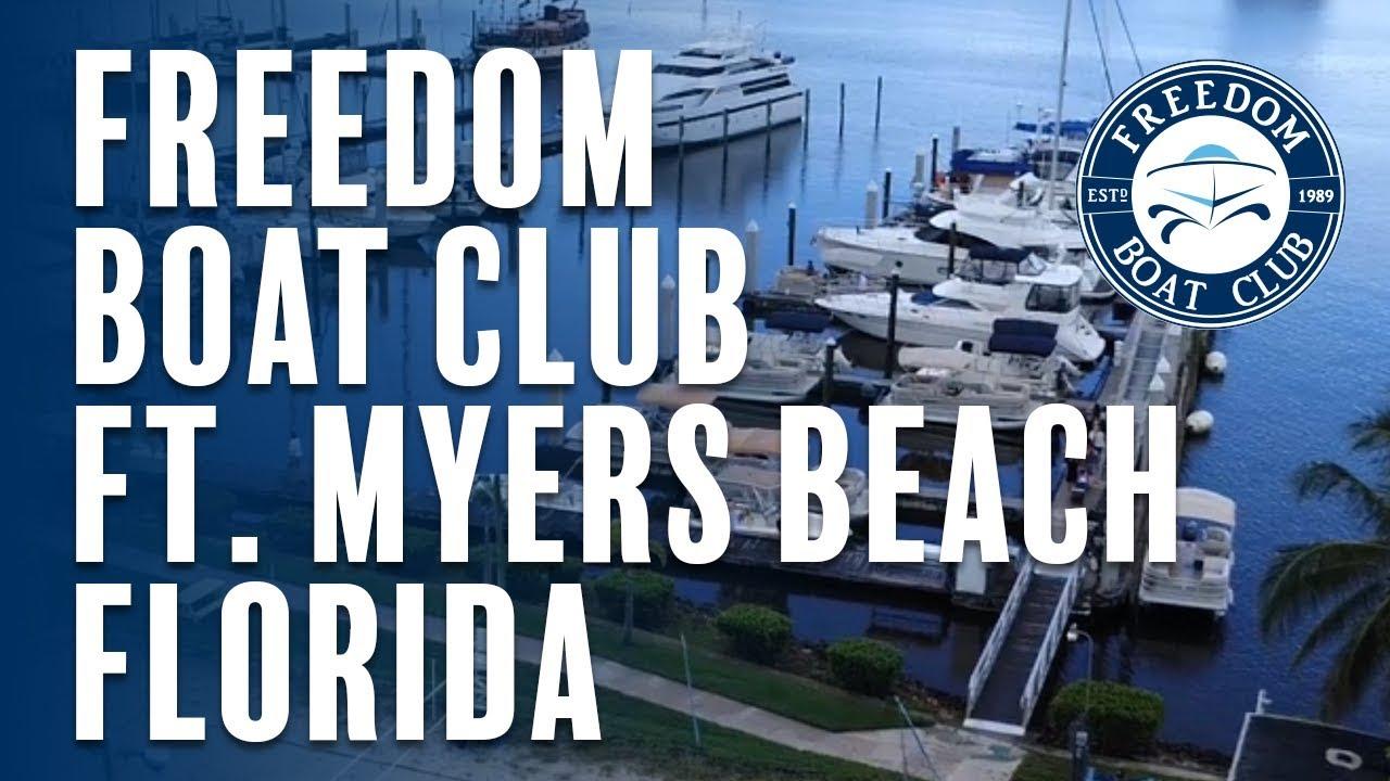 Freedom Boat Club Fort Myers Beach Freedom Boat Club