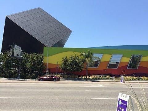 Grandkids at Discovery Cube OC Museum, in Santa Ana, CA!
