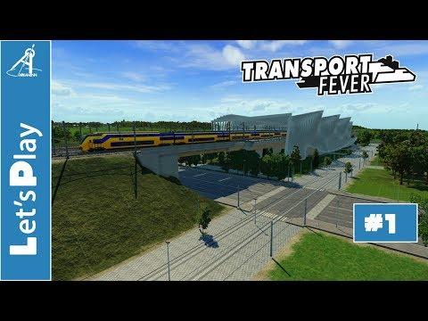 Transport Fever - Let's Play - Ep 1: Naissance d'une Mégalopole