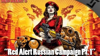 Red Alert 3 - Russian Campaign COOP Part 1 - Missions 1+2