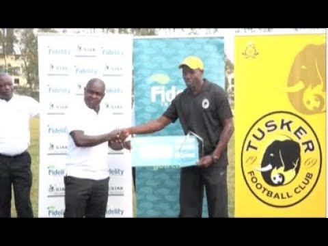 Tusker FC's interim coach wins October KPL coach of the month award