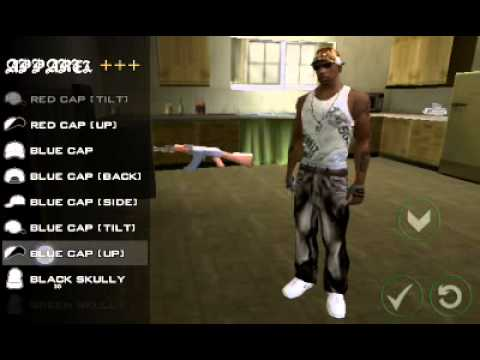 GTA SA ANDROID HIP HOP CLOTHES PACK PREVIEW by Kevin Genon