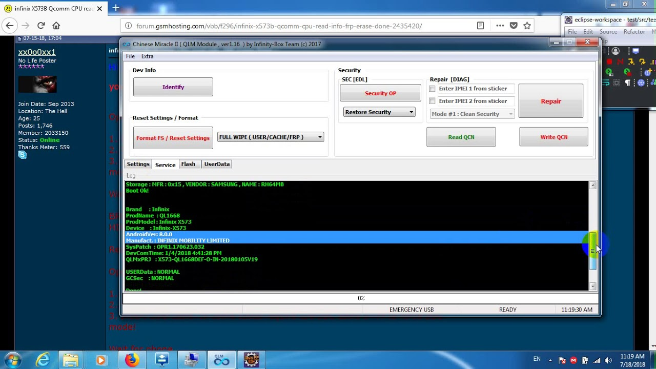 Infinix X623 Frp Cm2