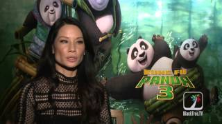 Lucy Liu Interview Kung Fu Panda 3