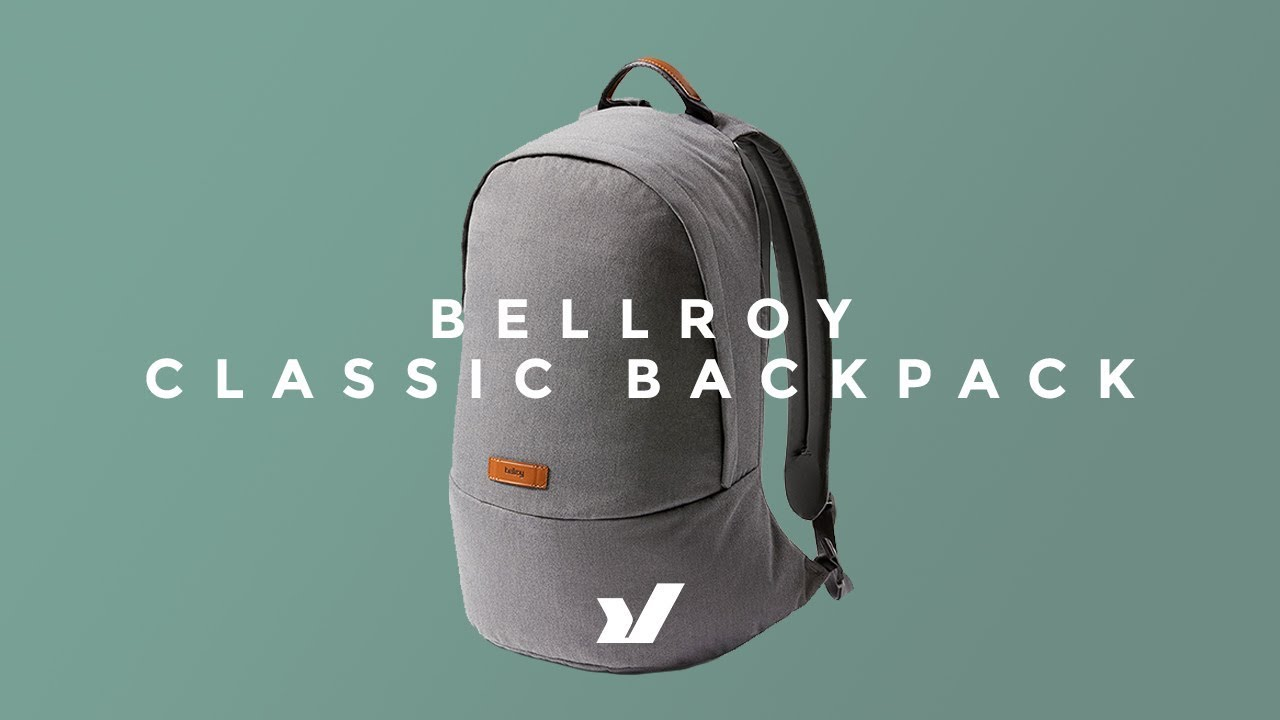 00ce0044aa5 The Bellroy Classic Backpack - YouTube