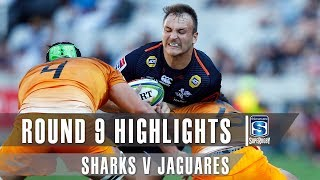 ROUND 9 HIGHLIGHTS: Sharks v Jaguares – 2019