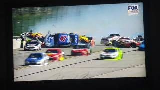 Huge crash at TALLADEGA! GEICO 500
