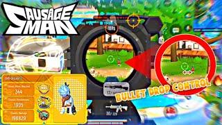 highest bullet drop ever seen in a BR game 😂😵 - sausage man   GkLulu04 screenshot 4