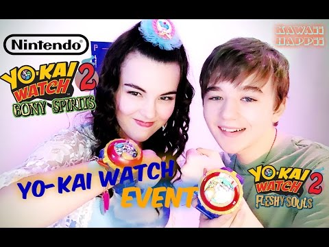 Yo-Kai Watch 2 Nintendo Event Vlog! w/ Ben Stockham