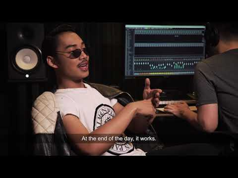 Hael Husaini shows us where he makes his music