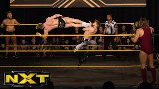 Trent Seven & Tyler Bate vs. Pete Dunne & Mark Andrews: WWE NXT, Nov. 29, 2017