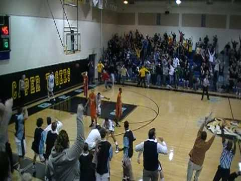 LCMR's Buzzer Beater Over Middle 1/06/10