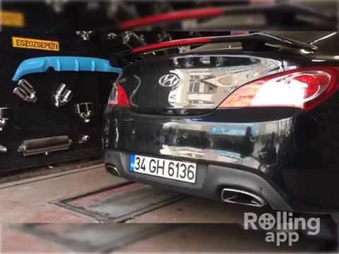 Hyundai Genesis 2.0i, Varex Egzoz Sesi