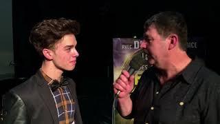 Interview de donovan pour la soirée des meilleurs jeunes talents