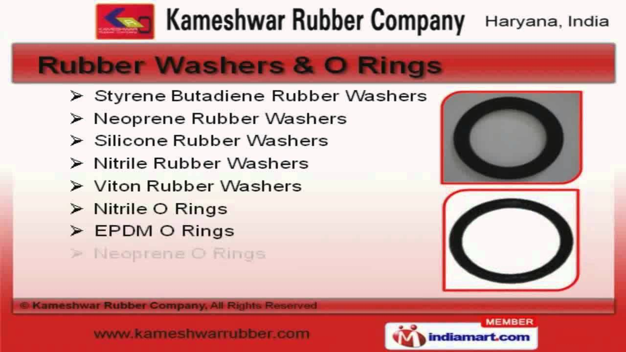 Rubber Washers, Rubber O Rings & Rubber Bushes by Kameshwar Rubber ...