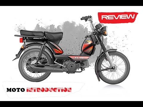 New TVS XL 100 stroke Review   TVS XL 100 4-stroke launched at INR 29,539