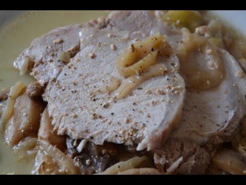 Recette cookeo r ti de porc au cidre youtube - Recette de noel au cookeo ...