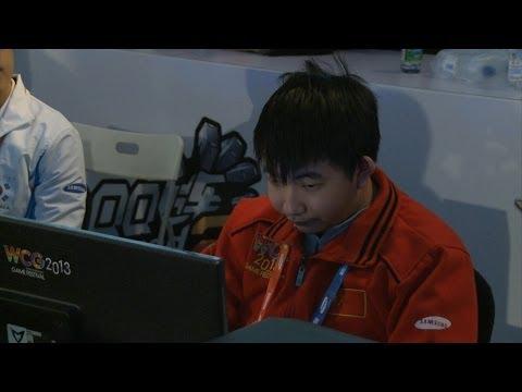 [WCG2013] Starcraft2 : Jim(P) vs EG Suppy(Z) -Korean commentary