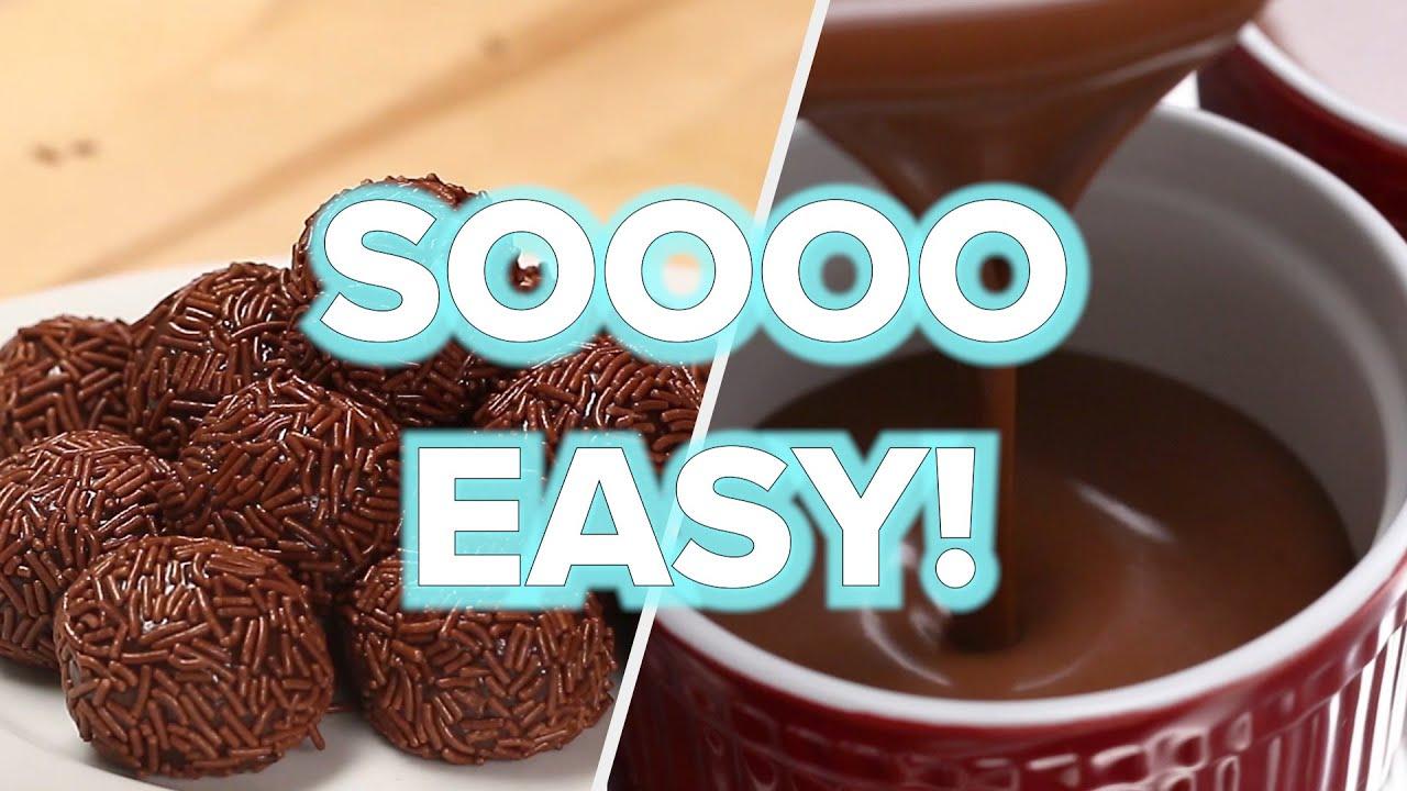 7 Satisfyingly Easy No Bake Desserts Tasty Youtube