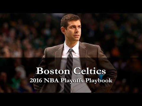 Brad Stevens Boston Celtics 2016 NBA Playoffs Playbook