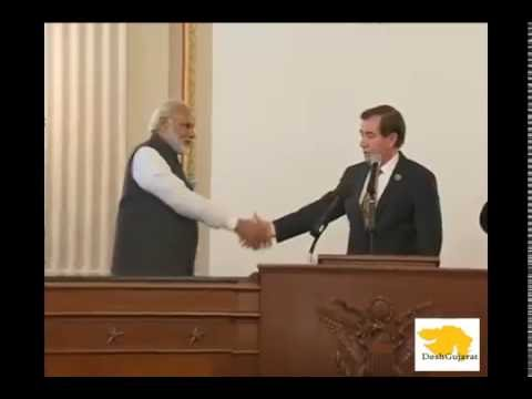 US Congress members praise Narendra Modi at reception function