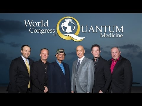 Speaker's Panel at the World Congress of Quantum Medicine 2013
