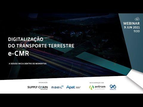 WEBINARS SCM | Digitalização do Transporte Terrestre e-CMR