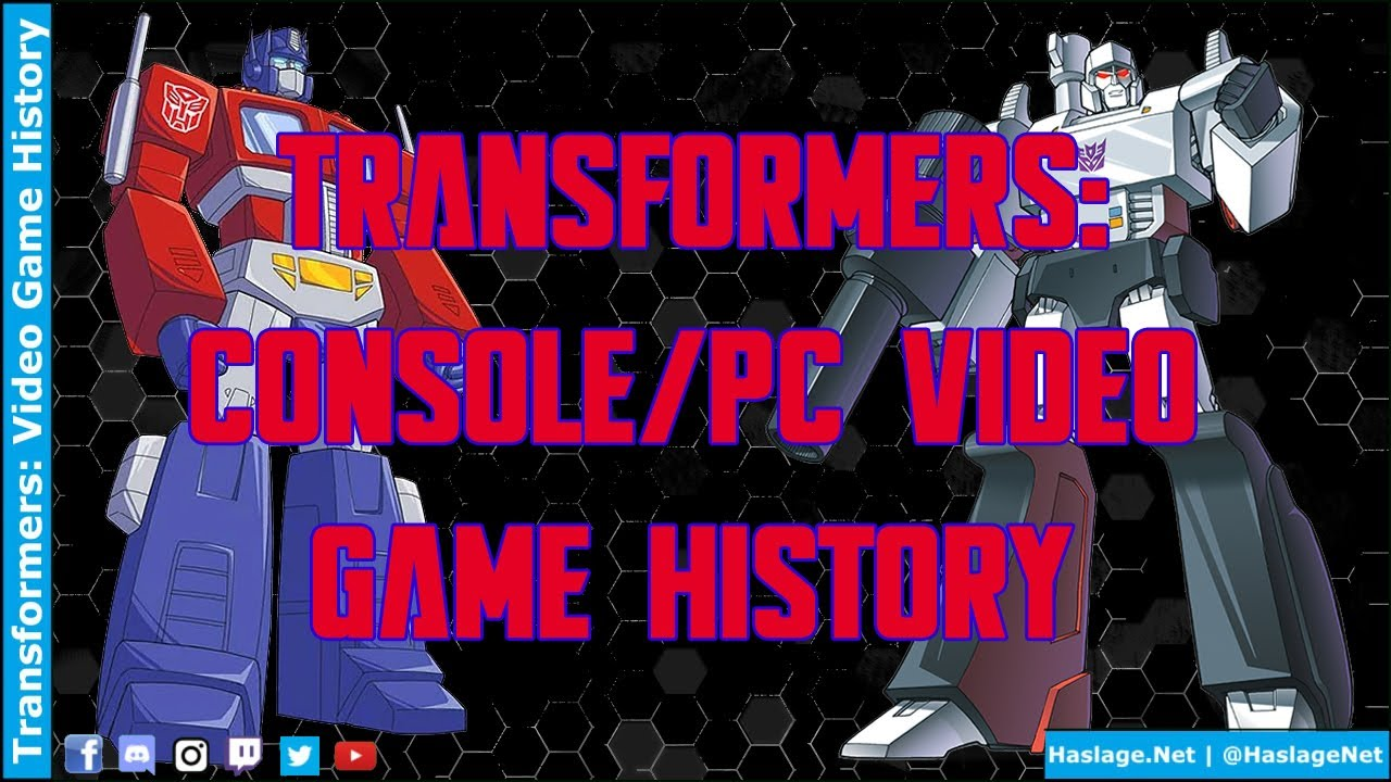 Transformers: Video Game History by HNE Games