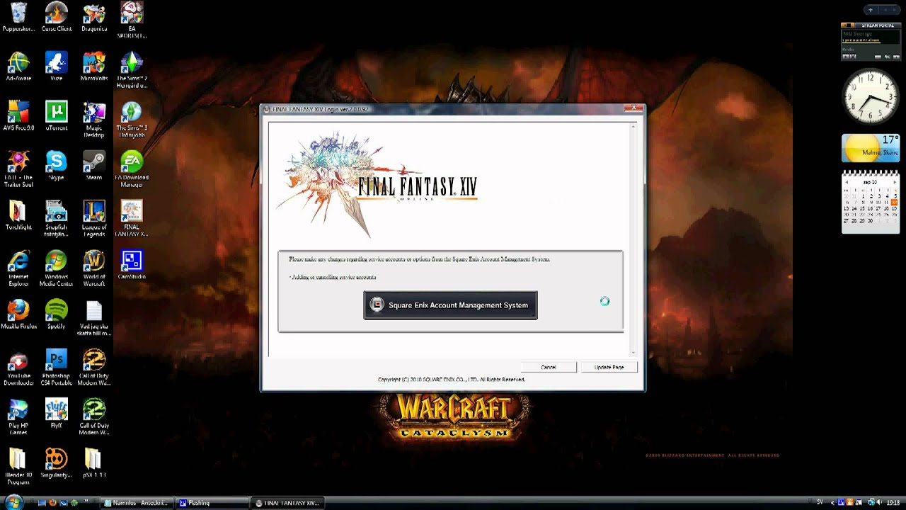 Final Fantasy XIV Error Help