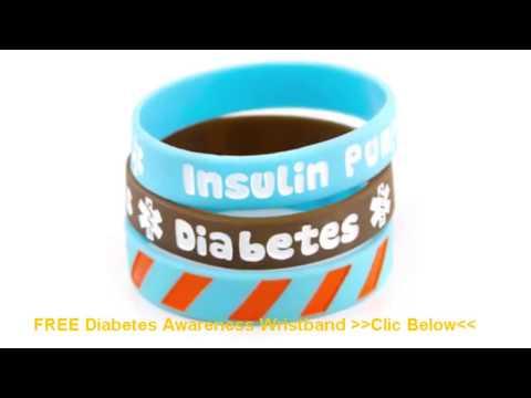 Diabetes: FREE Diabetes Awareness Wristband - Diabetic