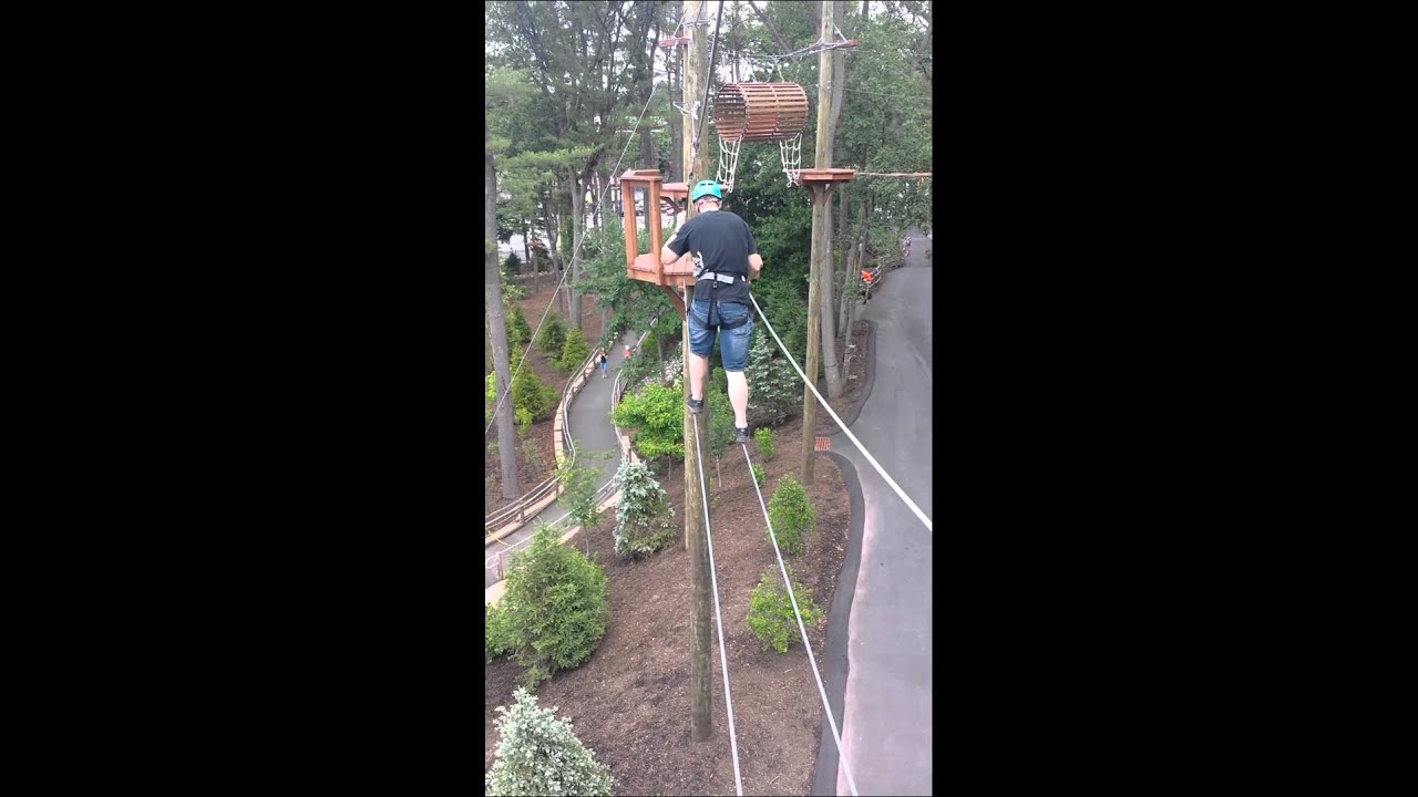 Turtle Back Zoo Rope Course Youtube