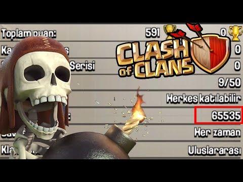 BU KLANA GİRMEK İMKANSIZIN İMKANSIZI | OHAA!!  İzle Gör - Clash Of Clans