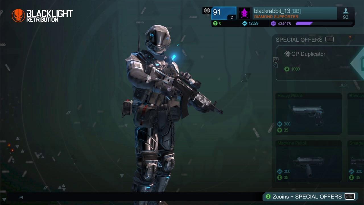 Download Free Diamond armor/camo 2017 Blacklight: Retribution