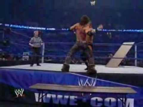 WWE Table Match Triple H vs. John Morrison (HD) - YouTube